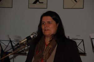 Unsere Bürgermeisterin Andrea Mickel bei ihrer Festansprache